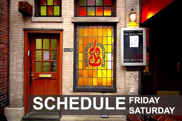 Friday-Saturday Schedule